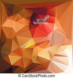 Abstract geometric background for use in design - vector...