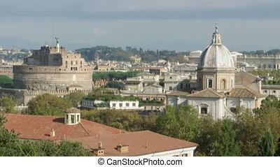 Hadrian Mausoleum in Rome, Italy