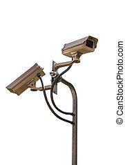 CCTV, sicurezza, macchina fotografica,  video, sorveglianza