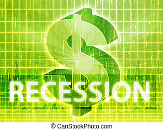 Recession Finance illustration