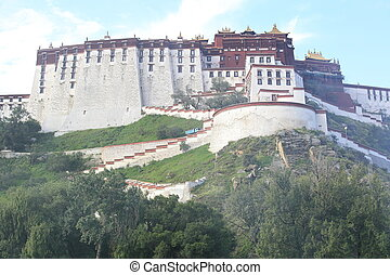 potala, palace, tibet, , china, ,