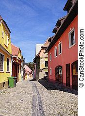 Sighisoara - Small Medieval Romanian City - Sighisoara....