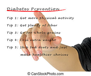 diabetes, Prevención,