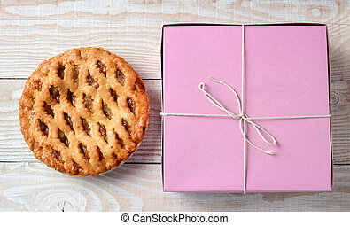 Apple Pie and Bakery Box