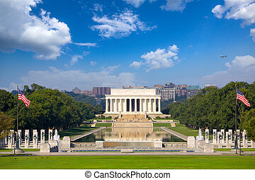 Abraham Lincoln Memorial - Lincoln Memorial and National...