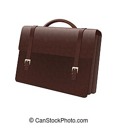 Vector illustration of briefcase