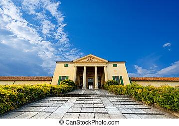 Villa Emo - Fanzolo Treviso Italy - Villa Emo (1558) in...