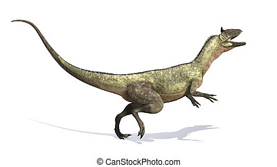 Cryolophosaurus Dinosaur - The Cryolophosaurus was a...