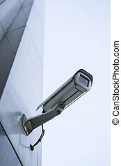 camera on office building