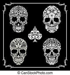 skull Ornamental Collections bundle
