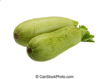 Zuchini - Ripe young small Zuchini with parsley