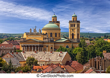 Basilica in Eger - The Basilica is the only Classicist...
