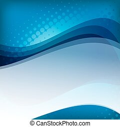 abstract blue background with space for text