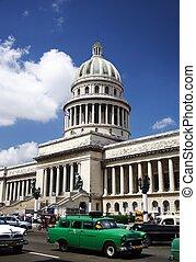 Cuba capitol - Capitol of Cuba in La Havana.