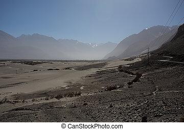 Nubra Valley in Ladakh