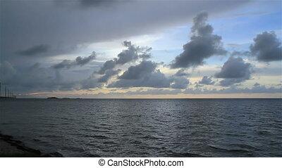 Fl Keys Ocean View Time Lapse