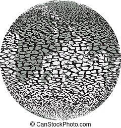 Global devastation the planet earth - Global devastation...