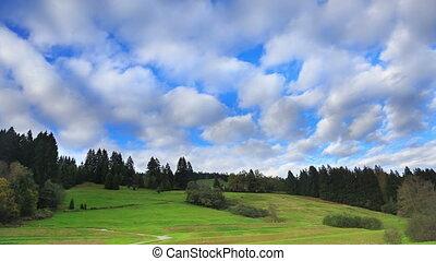 Fast cloud movement