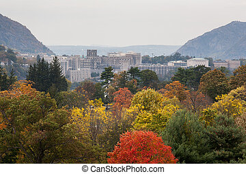 West Point Military Academy taken from one of the many...
