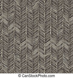 Dark scribble seamless pattern Vector