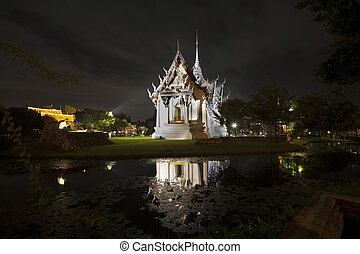 Ancient City or Ancient Siam, Samutparkan, Thailand. -...