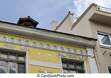 Old house with ornamente. Must to be renovate. Plovdiv town,...