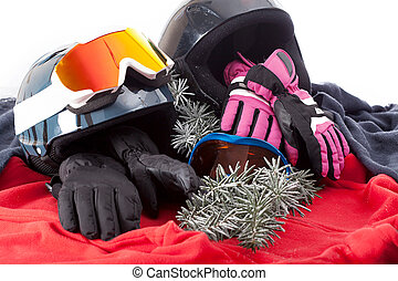 Winter sports equipment - The composition of winter sports...
