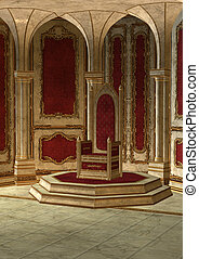 Fairytale Throne Room