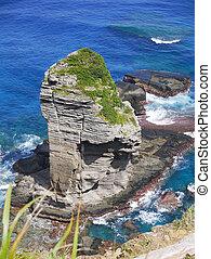 Tategami Iwa in Yonaguni Island - Tategami Iwa Tategami Rock...