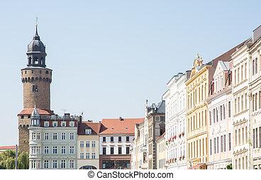 Reichenbacher Tower in Goerlitz - The Reichenbacher Turm...