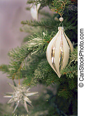 christmas tree decoration - A scene of a couple of ornaments...