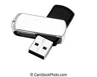 usb mass storage device - makro of an usb mass storage...