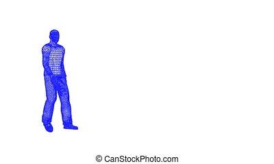 walking wire man