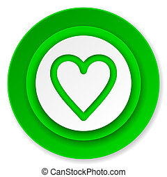 heart icon, love sign