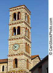 Montalcino city Tuscany Italy