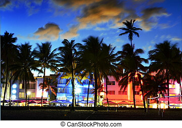 Miami beach, Floride USA - Miami Beach, Florida hotels and...