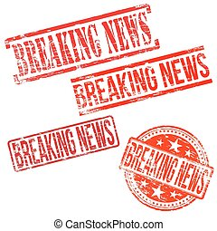 Breaking News Stamps