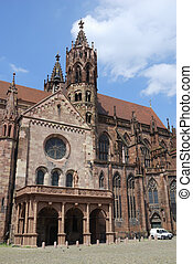 Minster of Freiburg - The Minster of Freiburg Germany...