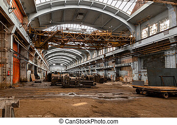 Electricity distribution hall in metal industry -...