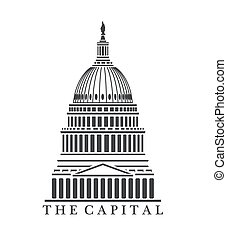 Capitol building - An illustration of Capitol building...