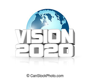 Vision 2020 - An illustration of Vision 2020 icon
