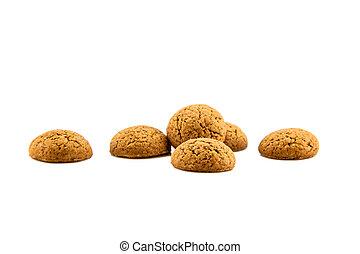 Group of six ginger pepernoten - Group of Pepernoten,...