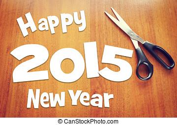 Happy New Year holidays 2015