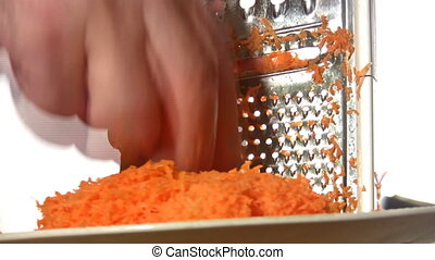 disintegrate carrot