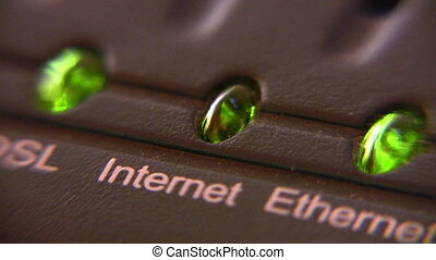 internet modem light - Internet modem light
