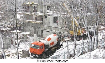 winter construction - Winter construction