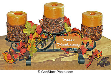 Table Decoration - A Thanksgiving table decoration