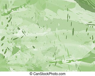 Grungy green ink background