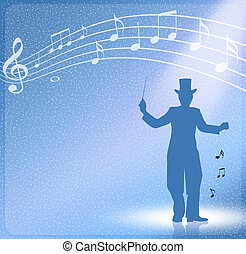 conductor - illustration of conductor