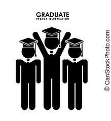 diseño, graduado